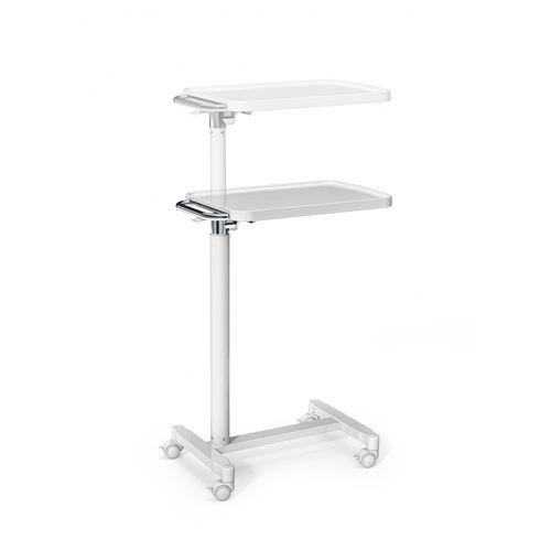 空気圧式作動オーバーベッドテーブル