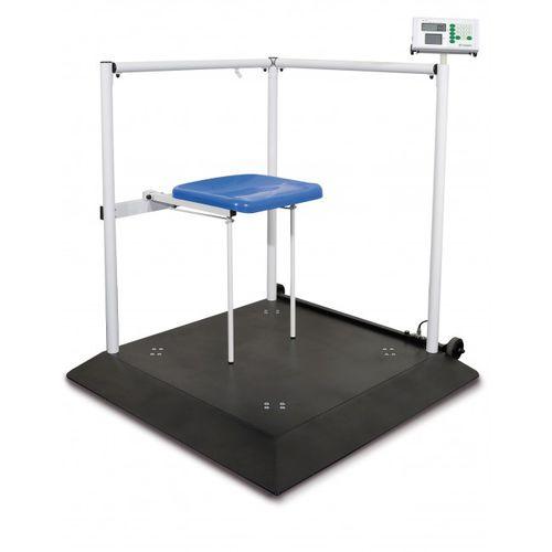 電動体重プラットフォーム / 車椅子用 / 肥満体型向け / デジタルディスプレイ付き