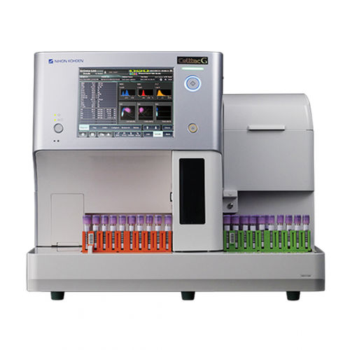 32パラメーター血液分析装置 / 人間 / 卓上型 / タッチパネル付