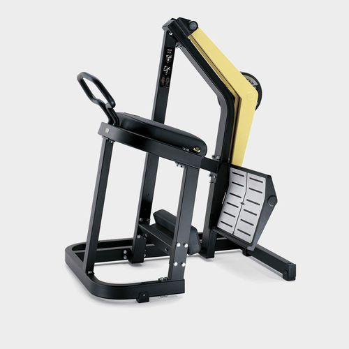 リバースレッグ用プレス筋力トレーニングマシン