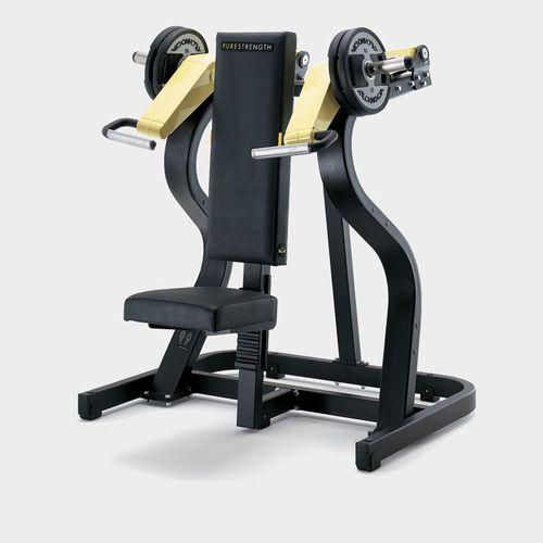 肩用プレス筋力トレーニングマシン