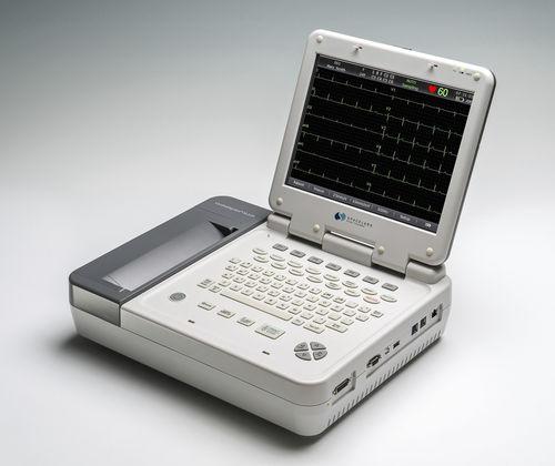 12チャネル心電計 / デジタル / プリンター付き / スクリーン付き