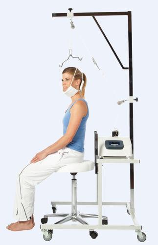 腰と首牽引ユニット