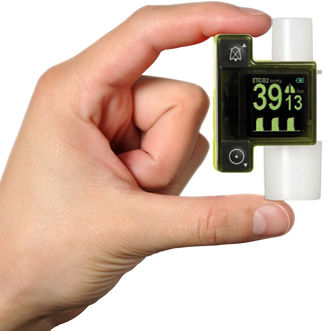 脈拍酸素濃度計患者モニター / CO2 / 集中治療用 / 歩行用