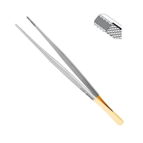 外科用鉗子 / DeBakey / ストレート型 / ステンレススチール製