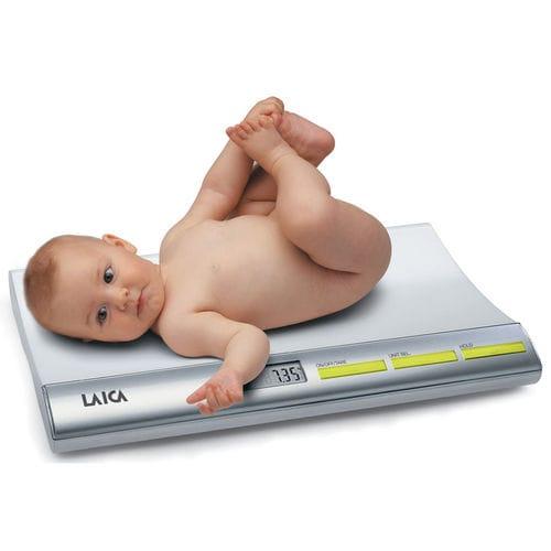 電動乳児用体重計 / LCD ディスプレイ付き / 卓上