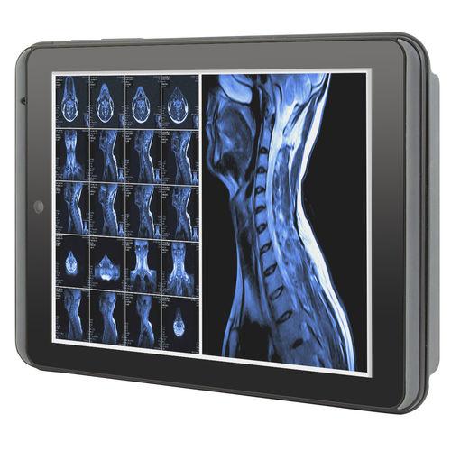Intel® Atom™医療用PCタブレット / バーコードスキャナー付 / 救急車両用 / 携帯式