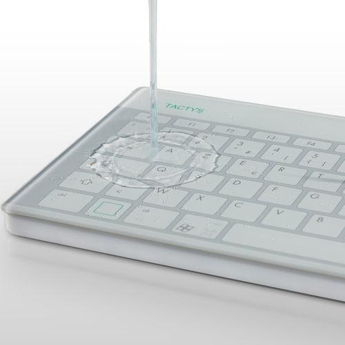 ガラス医療用キーボード