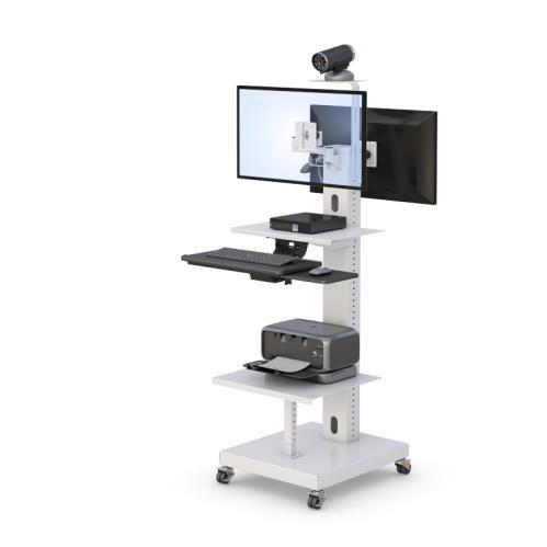 ビデオレコーダー式コンピュータ用台車