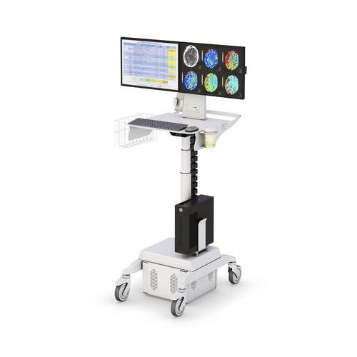 高さ調整可能コンピュータ用台車