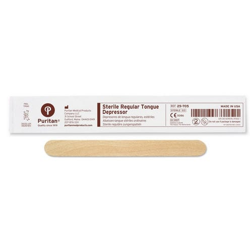 木製舌圧子