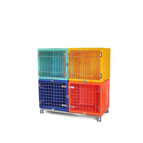 貯蔵トロリー / 動物ケージ用 / ステンレススチール製
