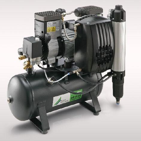 空気乾燥機付きコンプレッサー