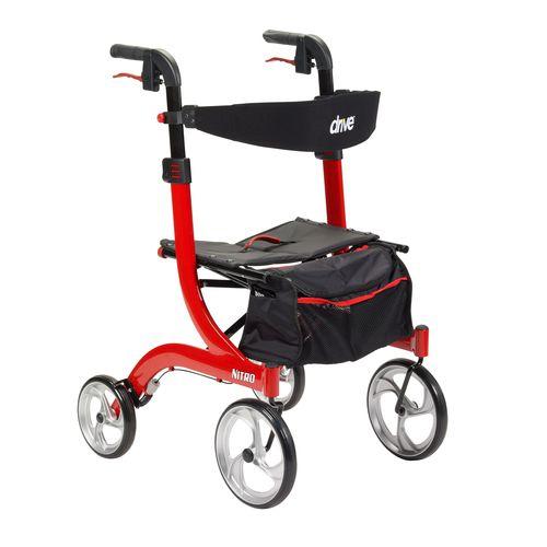 4つ歩行器 / 高さ調整可能 / 椅子付き / 折り畳み可能