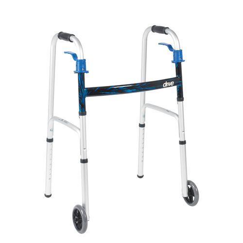 高さ調整可能歩行器 / 折り畳み式 / 2輪