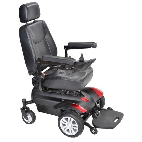 電気車椅子 / 野外 / 屋内 / ヘッドレスト付き