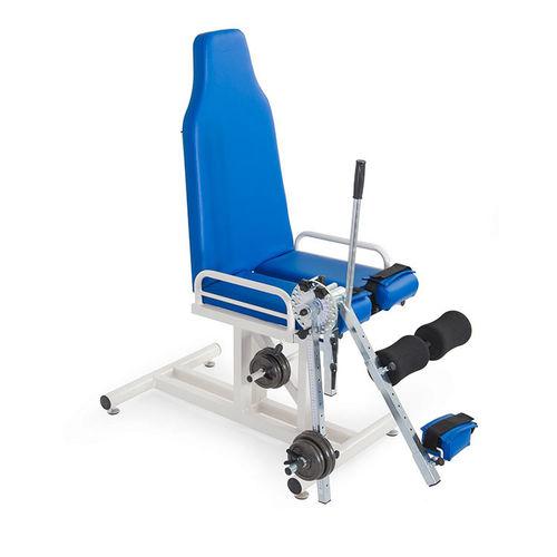 脚伸展筋力トレーニングマシン
