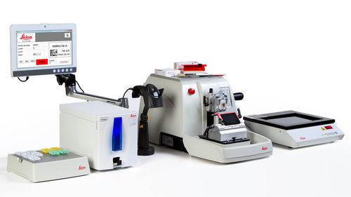 ラベルプリンター / 熱 / 顕微鏡のガラス用 / 実験用