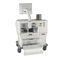 台車上麻酔ワークステーション / 呼吸モニタ / 電気ガス混合器付 / 麻酔ガス評価システム (SEGA)付き