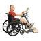 腕と脚エクササイズ用ペダル / 座り型