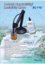 SC-110 Portable Conductivity / Resistivity Meter
