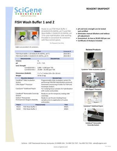 FISH Wash Buffer 1 and 2