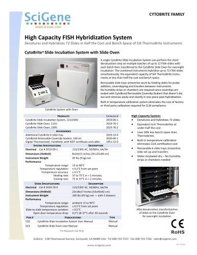 High Capacity FISH HybridizaƟon System