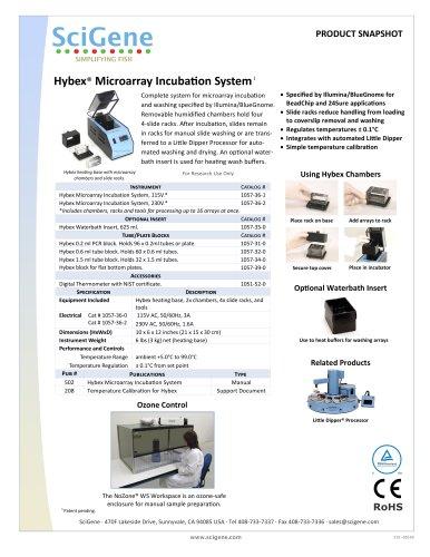 Hybex® Microarray IncubaƟon System
