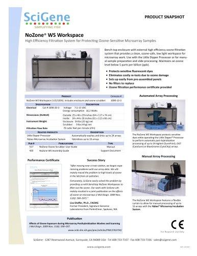 NoZone® WS Workspace