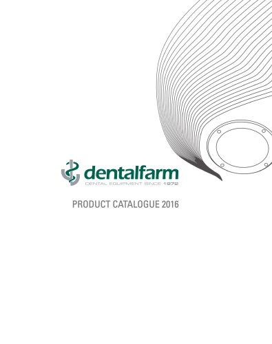 Dentalfarm - Product Catalogue 2016