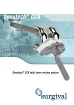 GENUTECH CCK TOTAL KNEE REVISION SYSTEM