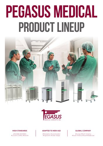 PEGASUS MEDICAL - PRODUCT LINEUP