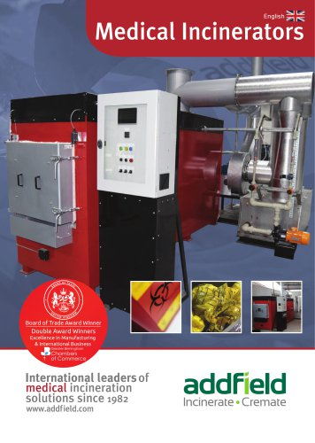 Addfield Medical Incineration Brochure
