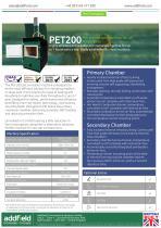 Addfield PET200 Pet Crematorium Machine Datasheet