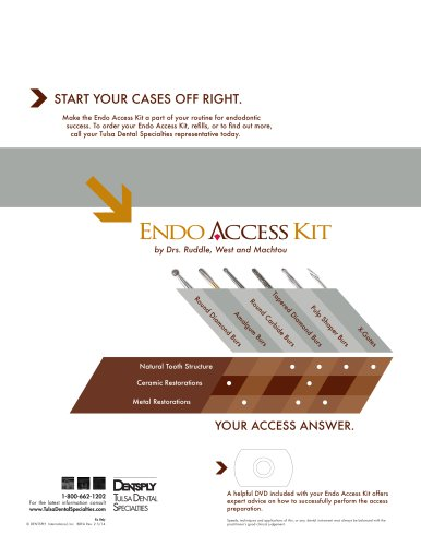Endo Access Kit Brochure