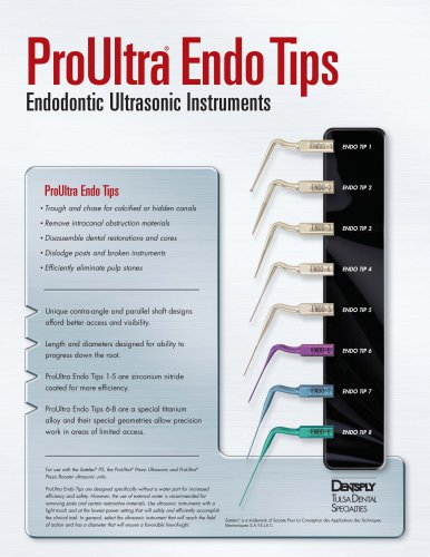 ProUltra® Endo Tips Endodontic Ultrasonic Instruments