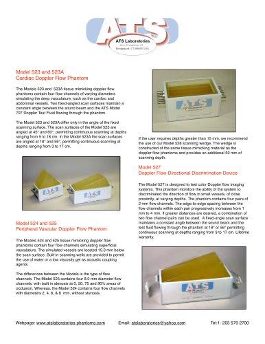 Model 527 Doppler Flow Directional Discrimination Device