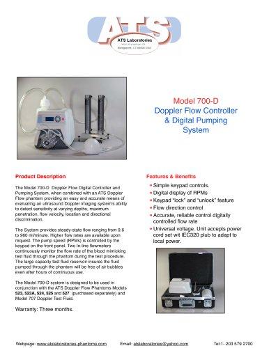 Model 700 D Doppler Flow Digital Pumping System