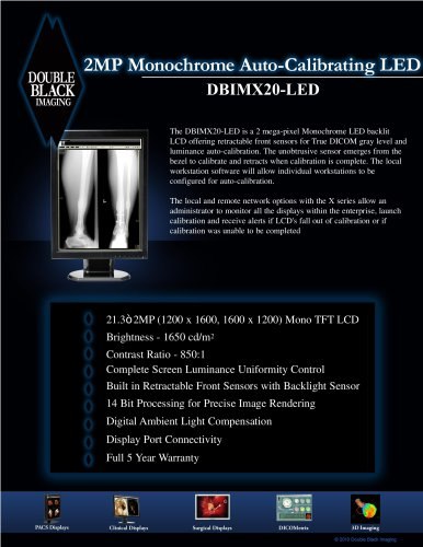2MP Monochrome LED - DBIMX20-LED