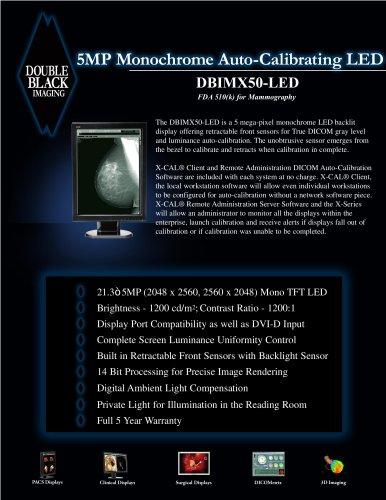 5MP Monochrome LED - DBIMX50-LED