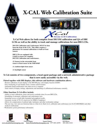X-CAL® LCD CALIBRATION