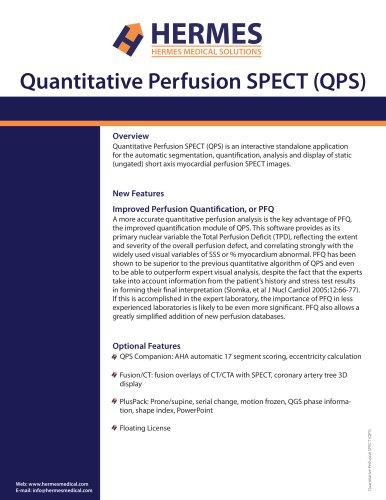 Quantitative Perfusion SPECT (QPS)