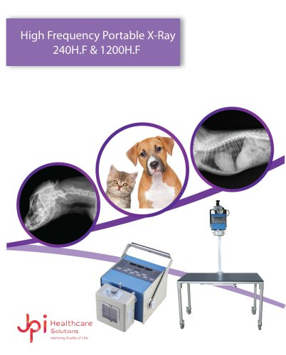 High Frequency Portable X-Ray 240H.F & 1200H.F
