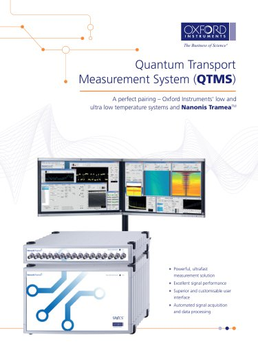 Quantum Transport Measurement System (QTMS)