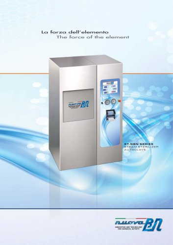 STEAM STERILIZER AUTOCLAVE ST.NBN SERIES