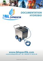 hydrobio - HIGH PRESSURE/HOT WATER / LOW FLOW RATE