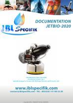 IBL specifik-spraying disinfection-JETBIO-2020  Stainless Steel 316L- General data.EN