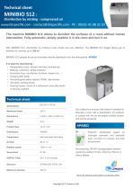 PROFESSIONAL DISINFECTION MIST - MINIBIO S12 - IBL SPECIFIK