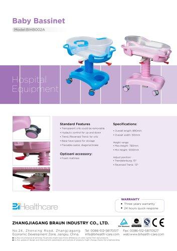 Brochure_Baby Bassinet(BIHB002A)_BI Healhtcare