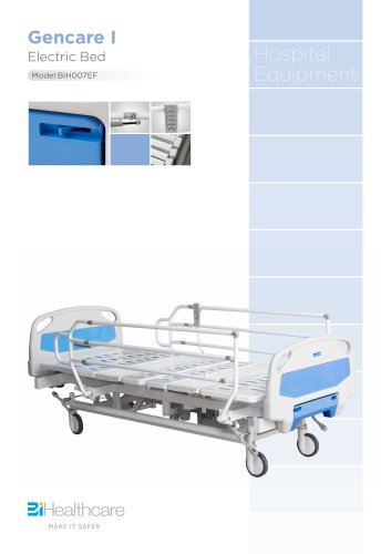 Brochure_Gencare I electric bed(BIH007EF)_BiHealthcare
